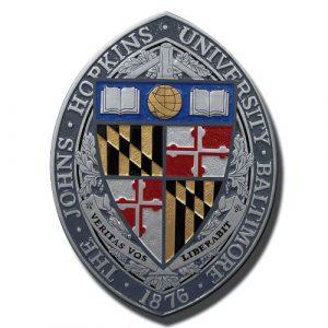 The John Hopkins University Baltimore Emblem