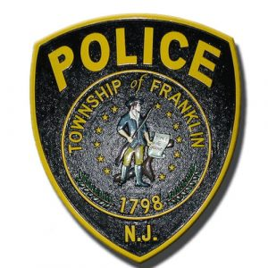 Township of Franklin NJ Police Emblem