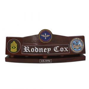 US Army Aviators Desk Nameplate