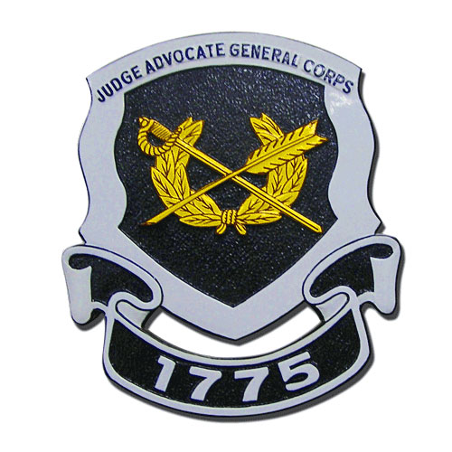 US Army Judge Advocate General Corps Emblem
