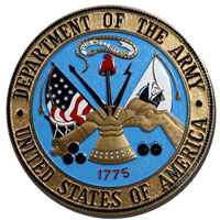 U.S. Army Seal Plaque