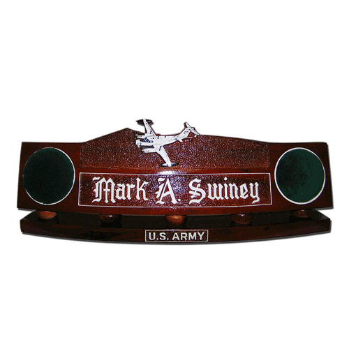 US Army UV 18 Twin Otter Desk Nameplate