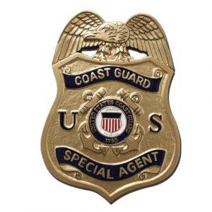 USCG SA Badge Plaque