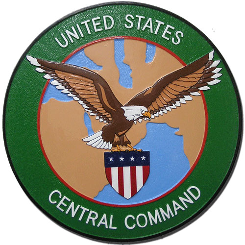 U.S. Central Command (USCENTCOM) Seal Plaque