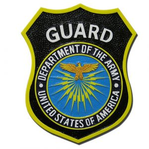 US Department of the Army Guard Emblem