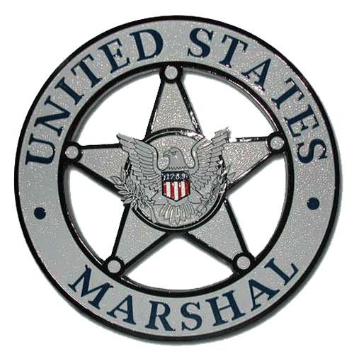 US Marshals Badge Plaque / Podium Plaque