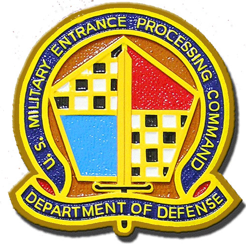 U.S. Military Entrance Processing Command Seal