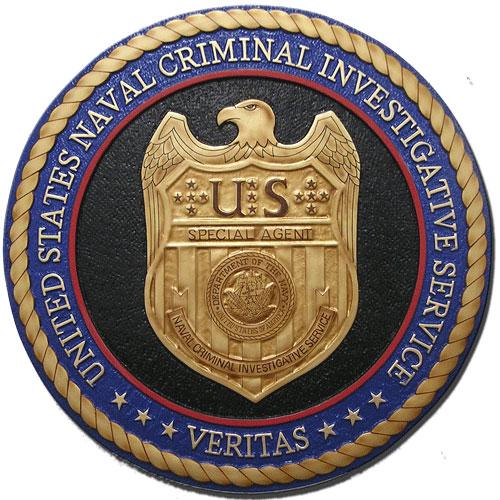 Naval Criminal Investigative Service (NCIS) Seal Plaque