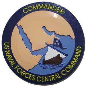 U.S. Navy Central Command (NAVCENT) Seal Plaque