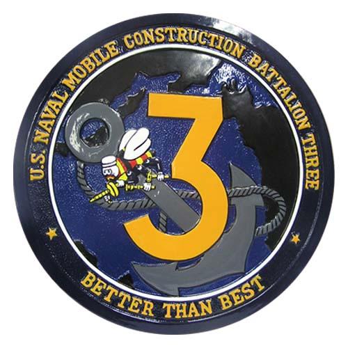 US Naval MCBT 3Three Seal