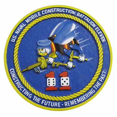 US Naval Mobile Construction Battalion Eleven Seal