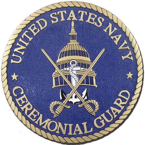 US Navy Ceremonial Guard Seal
