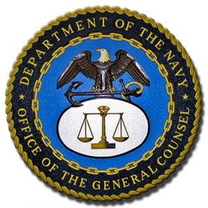 U.S. Navy Office of the General Council OGC Seal