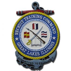 U.S. Navy Recruit Training Command (NRTC) Seal Plaque