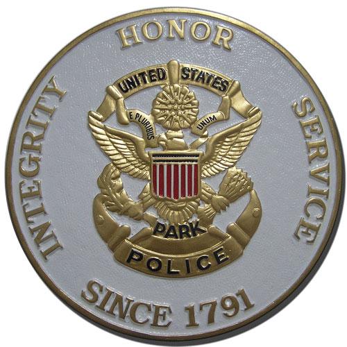 U.S. Park Police USPP Seal Plaque
