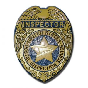 US Postal Service Inspector Badge Plaque