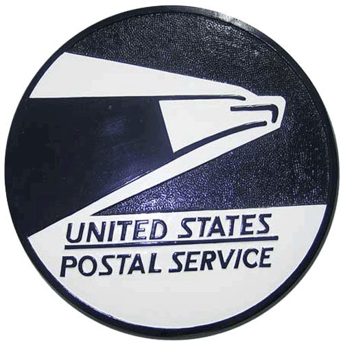 United States Postal Service USPS Seal / Podium Plaque