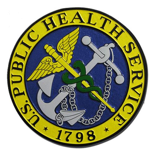 Public Health Service PHS Seal Plaque