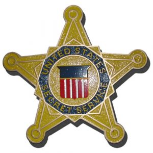 U.S. Secret Service Star / Podium Plaque