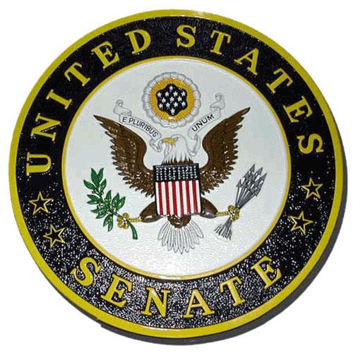 The US Senate Seal / Podium Plaque