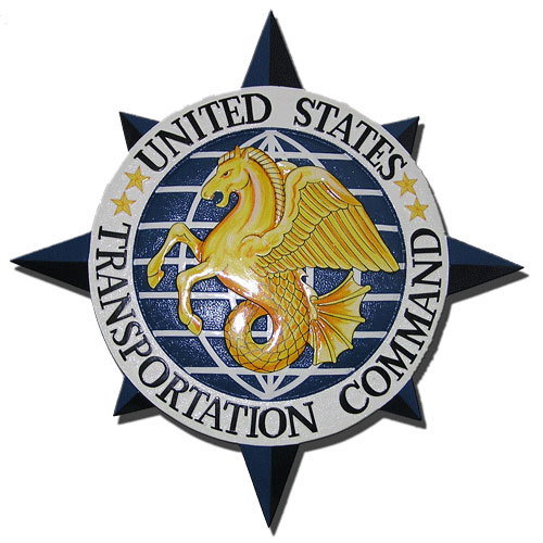 US Transportation Command USTRANSCOM Seal / Podium Plaque
