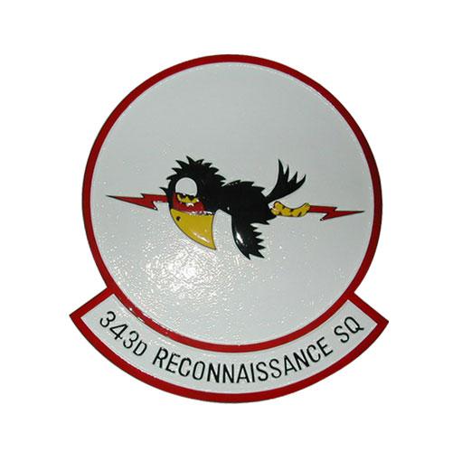 USAF 343d Recon Sq Emblem
