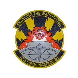 USAF 422d Communications-Sq Emblem