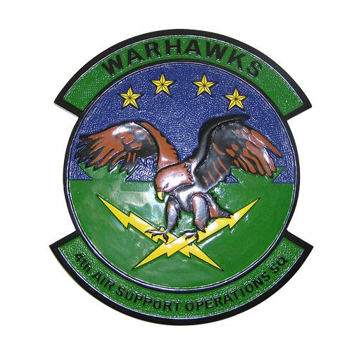 USAF 4th Air Operations SQ Emblem