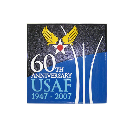 USAF 60th Anniversary Emblem