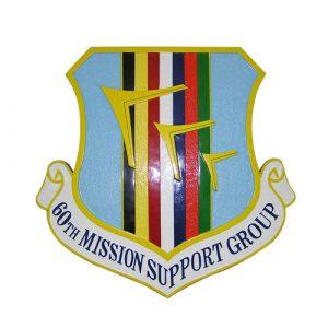 USAF 60th Mission Support Group Emblem