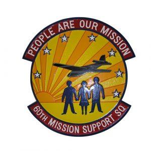 USAF 60th Mission Support SQ Emblem