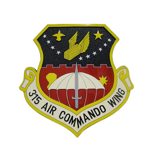 USAF Air Commando Wing Emblem