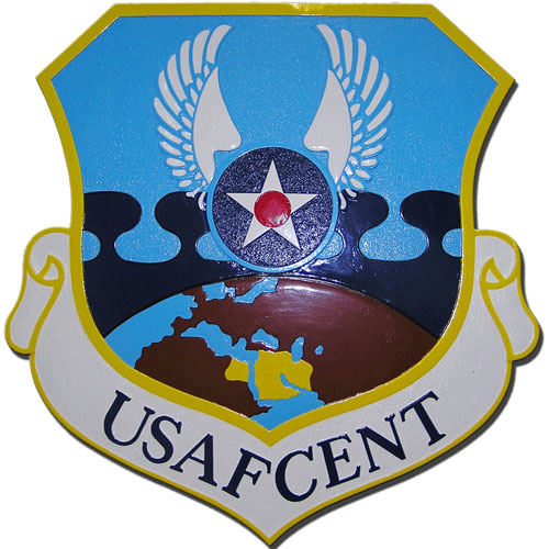 United States Air Forces Central USAFCENT Seal Plaque
