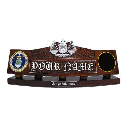 USAF Judge Advocate Desk Nameplate