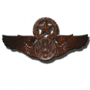USAF Master Aircrew Badge Insignia Plaque