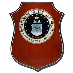 Air Force (USAF) Shield Plaque
