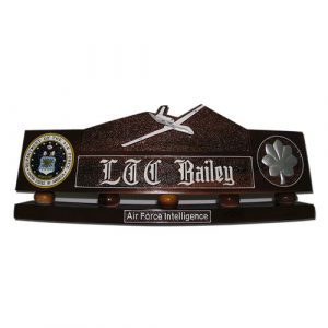 USAF RQ 4B Global Hawk Desk Nameplate