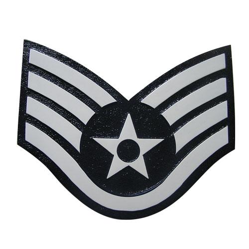 USAF E5 Rank Insignia Plaque