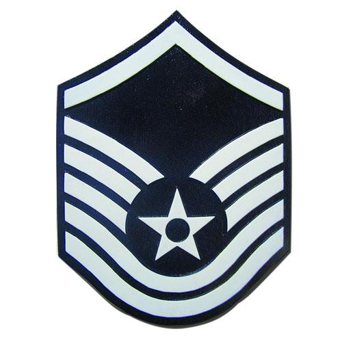 USAF E7 Rank Insignia Plaque