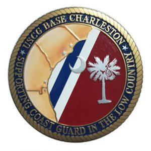 USCG Base Charleston Seal