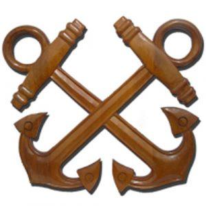 USCG Boatswain Mate Insignia Plaque