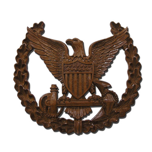 USCG Command Ashore Insignia Plaque