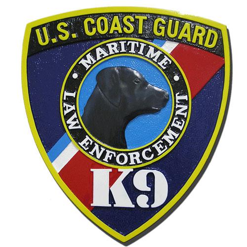 USCG K9 Emblem
