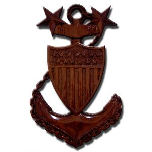 USCG Anchor Plaque MCPO E9