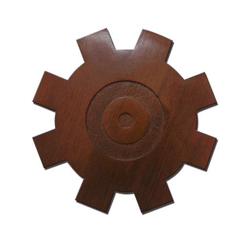 USCG Machinery Technician Badge Plaque
