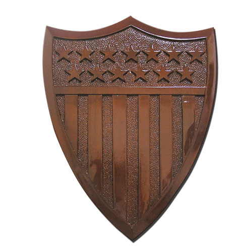 USCG No Rate Symbol Badge Plaque