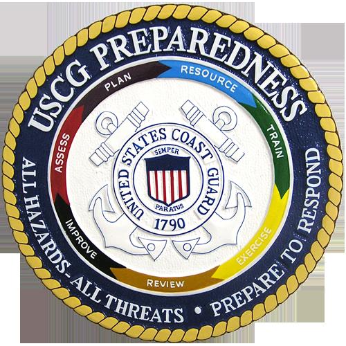 USCG Preparedness Seal
