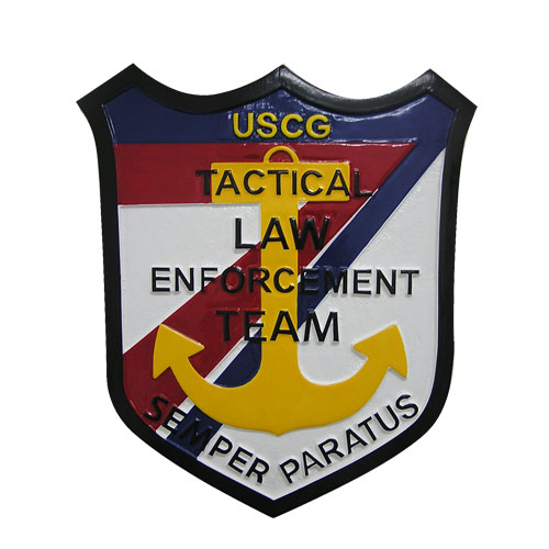 USCG Tactical Law Enforcement Emblem