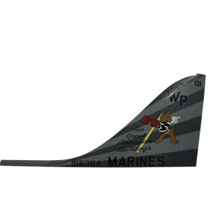 USMC AV-8B Tail Flash Wall Plaque