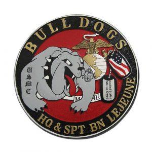 USMC HQ & SPT BN Lejeune Seal
